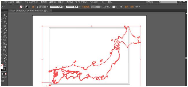 編集できる無料地図素材