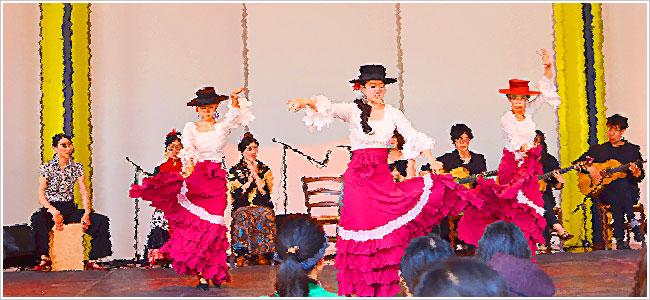 スペイン料理祭フラメンコ