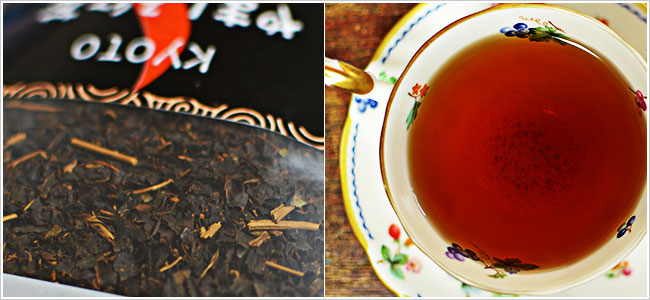 やましろ紅茶説明