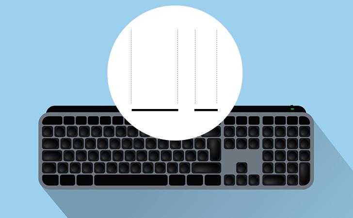 パソコンで 伸ばし棒 ー 横棒記号の打ち方 入力方法 | windows10